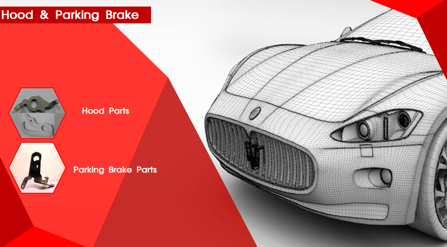 Hood and Parking Brake
