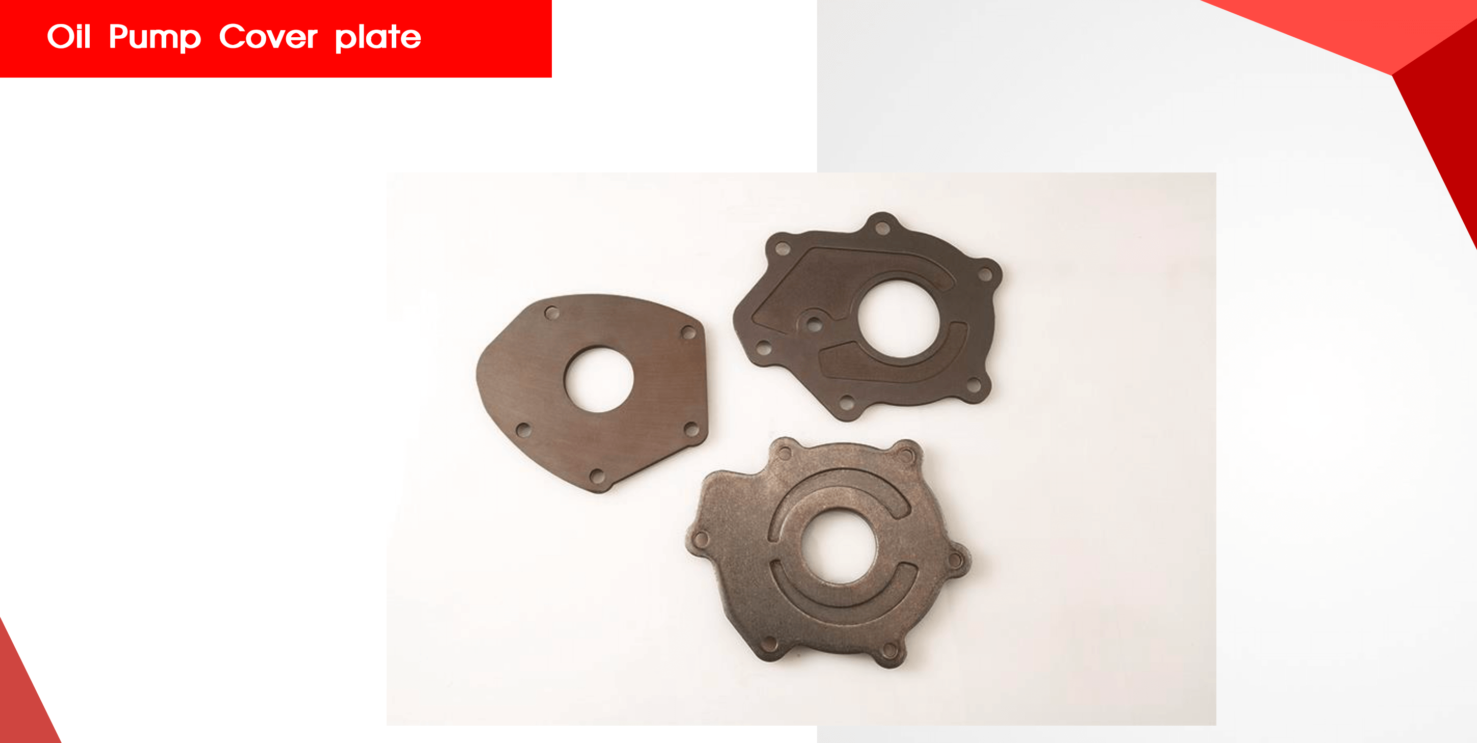 Oil Pump cover plate