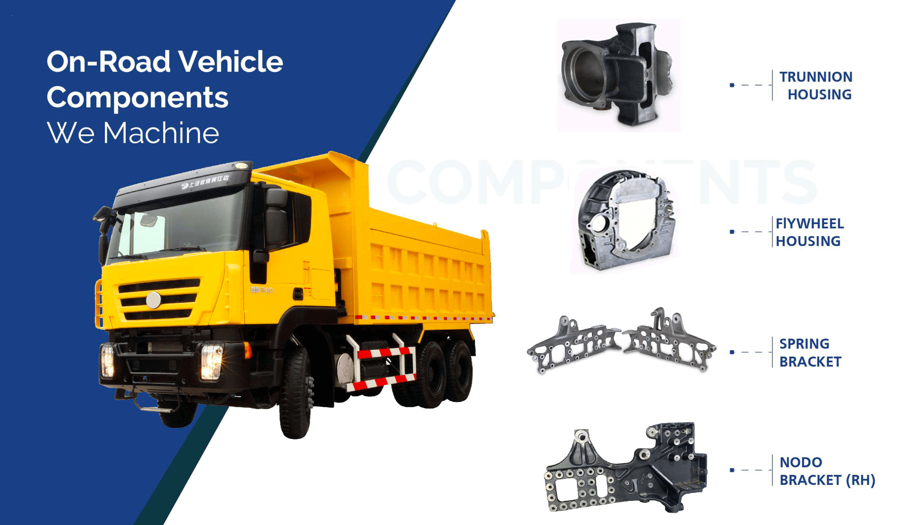 On-Road vehicle components